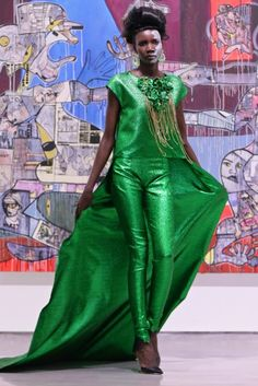 Celebrated South African Designer, David Tlale Showcases at Mercedes-Benz Fashion Week Cape Town Smart Casual Outfit, Casual Outfits, African Fashion Designers, African Design, Modern Fashion, Mercedes Benz, Saree, Gowns, Style Inspiration