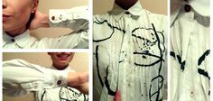 Мои черно-белые рубашки / Рубашки / Своими руками - выкройки, переделка одежды, декор интерьера своими руками - от ВТОРАЯ УЛИЦА