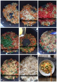 Stekt ris med reker - Mat På Bordet Ethnic Recipes, Food, Red Peppers, Meals
