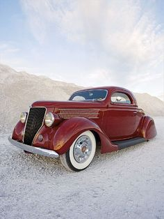 Geir Natvigs 36 Ford Coupe