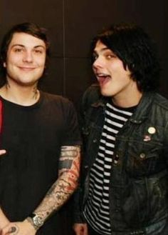 Frank and Gerard ~ My Chemical Romance