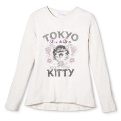 Girls' Cat Graphic Tee