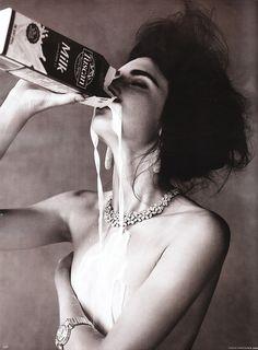 Milk / For Vogue Germany by Alexi Lubomirski