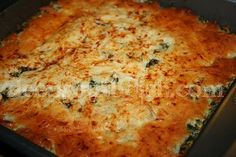 Deep South Dish: My Way Spinach Bake and The Original Spinach Madeline