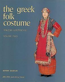 NEW Greek Folk Costume by Angeliki Hatzimichali Hardcover Book (English) Free Sh