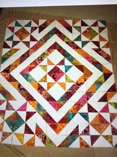 Tumbler By Cabin In The Woods Quilters 5in QUILTING TEMPLATE ALL SCRAPPED OUT
