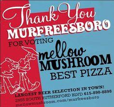 2010 Ruthies Award - Murfreesboro's Best Pizza! | Yelp
