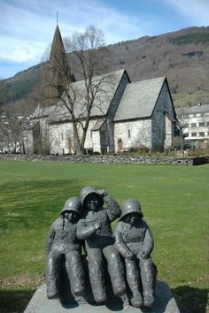 Sightseeing in Voss, Norway on a day trip from our Norwegian Fjords Cruise