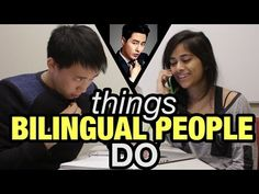 I think that being able to speak multiple languages is one of the coolest skills you can have in life. But I also noticed that my bilingual friends sometimes...