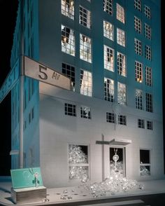 Designed to showcase Tiffany's most iconic collections and inspired by board games from the 1920's and 1930's, our New York City Flagship Store windows truly capture the magic of Tiffany. If you're in the city, head to the store on 57th and Fifth Avenue and discover the House of Tiffany displays. #Tiffany #TiffanyAndCo