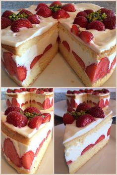 Erdbeer-Ricotta Torte www.manufaktur-Blessing.de