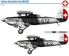 Two were received in 1937 for testing purposes, and they flew in reconnaissance role until 1945 Swiss Air, Ww2 Aircraft, Military Equipment, Koi, Military Vehicles, World War, Switzerland, Air Force, Diesel