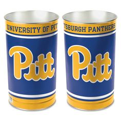 Pitt Panthers, Metal Tins, School Spirit, Cleaning Wipes, Canning, Dorm Room, House Ideas, Gender, Unisex