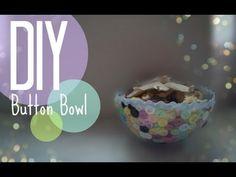 Brilliant Way to Impress Your Guests: Cute DIY Button Bowl - DIY & Crafts