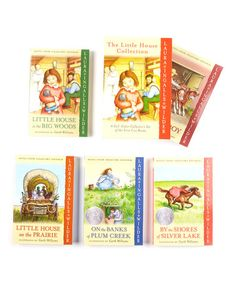 Take a look at this The Little House Collection Boxed Paperback Set by HarperCollins on #zulily today!