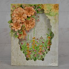 Heartfelt Creations - Zinnia Shadowbox
