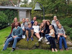 The Crown Princely Couples of Sweden, Norway, Denmark and Luxembourg held a generation meeting in Mågerø, Norway.