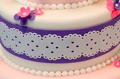 A close up of a cute made with the Cricut Cake machine found on   curbly.com
