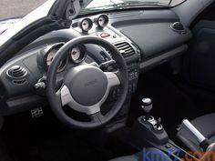 smart roadster 101 CV BRABUS Descapotable Interior Salpicadero 2 puertas