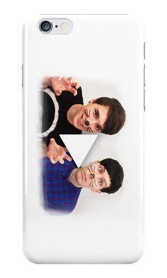 dan and phil iphone 7 case