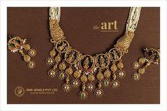 Gold Temple Jewellery, Gold Jewellery Design, Gold Jewelry, Beaded Jewelry, Jewelery, Pearl Necklace Designs, Antique Necklace, Antique Jewelry, Gold Necklace