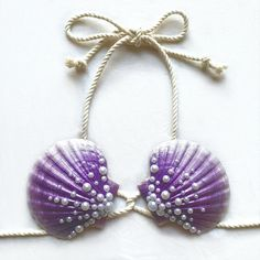 Mermaid Shell Top, Shell Bra, Silicone Mermaid Tails, Mermaid Swimsuit, Mermaid Swimming, Seashell Jewelry, Pearl Design, Diy Hair Accessories, Sea Shells