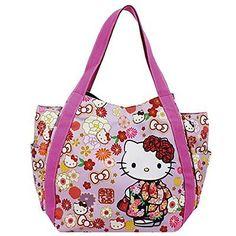 3216c48a9a Hello Kitty Sanrio Diaper Bag Tote Baby Infant Japan Design Large Gift  Kimono
