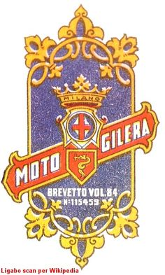 primo logo della Gilera nel 1909 Moto Guzzi, Ss, Motorcycles, Posters, Motorbikes, Vintage Posters, Italy, Poster, Motorcycle