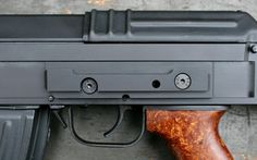 Parts and Accessories - vz. 58 parts & accessories - receiver side rail - NITRIDE - Czechpoint