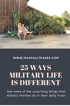Everyone knows military life is different but, do you know how? Heres a list of some surprising things military members and their families have to live with every day!