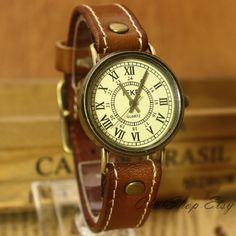 Hey, I found this really awesome Etsy listing at http://www.etsy.com/listing/153164515/women-watches-leather