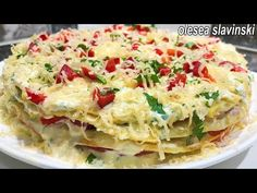 Most Delicious Recipe, Crepes, Veggie Recipes, Easy Dinner Recipes, Vegan Vegetarian, Food Videos, Macaroni And Cheese, Delish, Appetizers