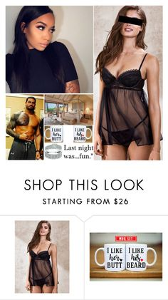 """""""The Morning After"""" by digital-minerva ❤ liked on Polyvore featuring Victoria's Secret"""