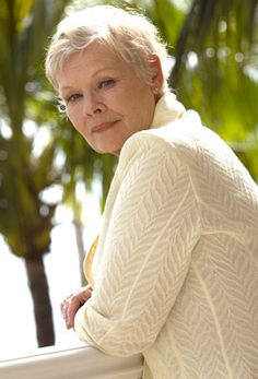 Dame Judi Dench - she's beautiful!