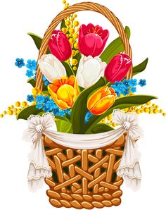 """Photo from album """"Пасха"""" on Yandex. Baby Easter Basket, Easter Baskets, Easter Bunny, Easter Eggs, What Day Is Easter, Easter Pictures, Pics Art, Easter Holidays, Vintage Easter"""
