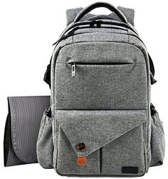 Hap Tim offers the On-The-Go Parent (Or Sitter) a Reliable Handsfree Diaper Bag! Life Has Became Easier with Our Stylish Backpack #Diaper Bag, #Tough and Durable...