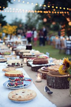 signed by tina: Wonderful dessert tables....