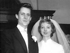 Anna Massey with her first husband Jeremy Brett