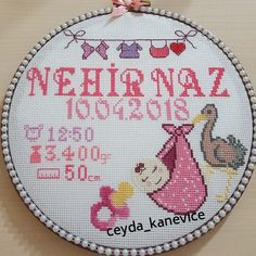 Baby Cross Stitch Patterns, Cross Stitch Baby, Baby Registry, Baby Toys, Embroidery Patterns, Crochet Baby, Baby Shower, Creativity, Gifts