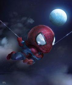 Mini Spider man on Behance