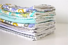 diy burp cloth gift sets