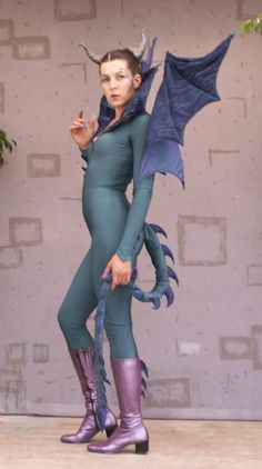dragon costume - Different shoes and makeup... perhaps even hairdo... Like Edea http://pinterest.com/pin/93801604708738286/ or this: http://pinterest.com/pin/93801604708738298/ or this: http://pinterest.com/pin/93801604708887029/