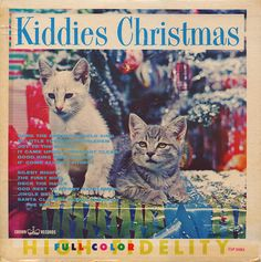 Kiddies Christmas Record Album