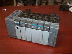 Allen Bradley SLC 500 Loaded 1747-L542 Processor + 2 Input / 3 Input Modules #AllenBradleySLC500Loaded