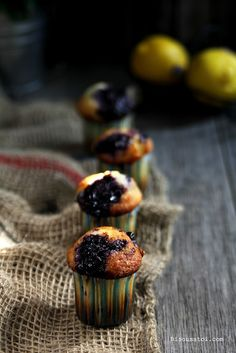 Bisous À Toi: Ultimate Blueberry Muffin with Lemon Sugar Crunch