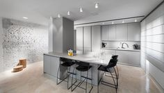 140 Sqm apartment in Tel Aviv Modern & Old architecture interior design Vstudio Architecture