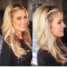 """Christina El Moussa on Instagram: """"Bringing the braid back today... @shanrbeauty ♥️"""""""