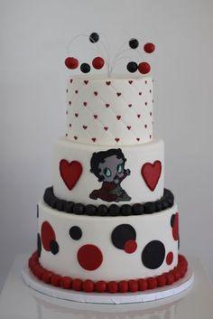Betty book baby shower cake!!
