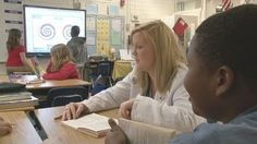 Educators use frequent formative assessments to determine the needs of each student at Forest Lake Elementary School.