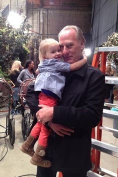 Ella Allan and Craig T. Nelson   #Parenthood